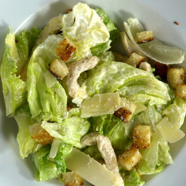 Easy Homemade Caesar Salad