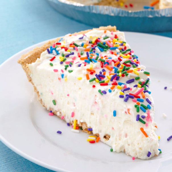 No-Bake Birthday Cake Cheesecake