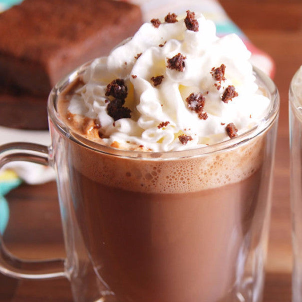 Brownie Batter Hot Chocolate