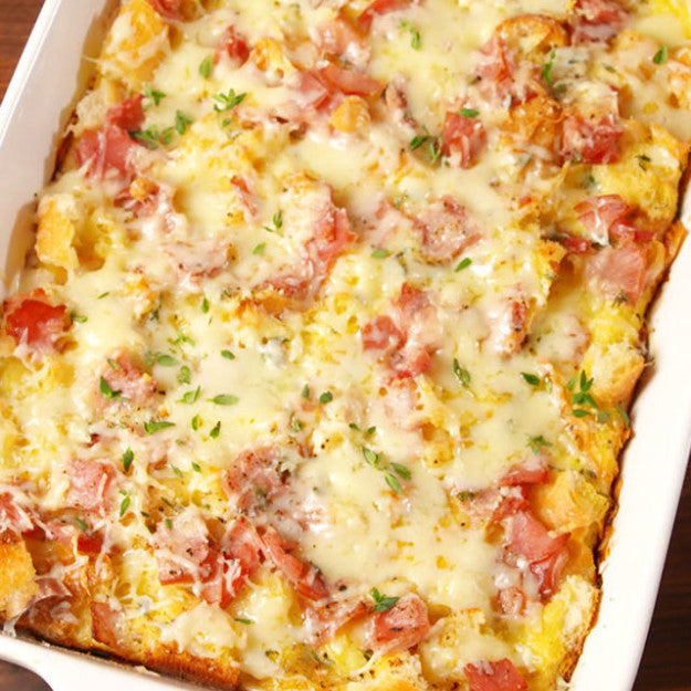 Ham & Cheese Brunch Bake