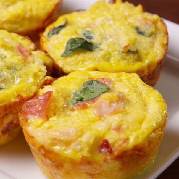 Cauliflower Breakfast Muffins