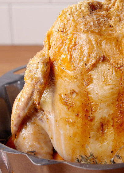 Bundt Pan Roast Chicken