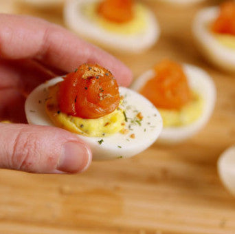 Everything Deviled Eggs