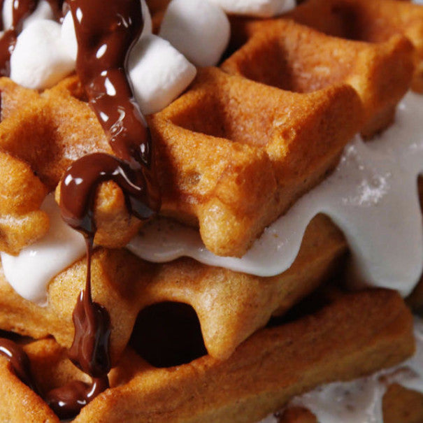 These Waffle S'mores Prove You're Doing Breakfast All Wrong