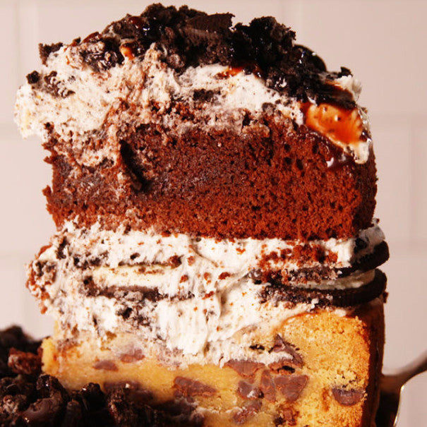 Slutty Brownie Cake