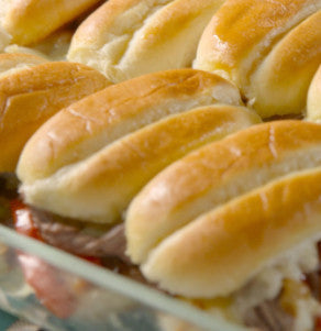 Philly Cheesesteak Pull-Apart Sliders