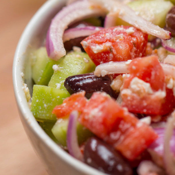 Chopped Greek-Inspired Salad