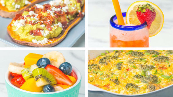 Healthy 3-Course Brunch (for Mother's Day!)