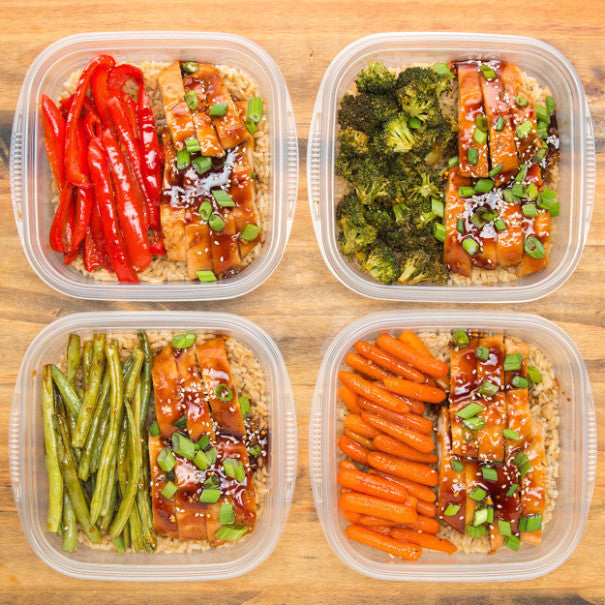 One-Pan Teriyaki Chicken Meal Prep
