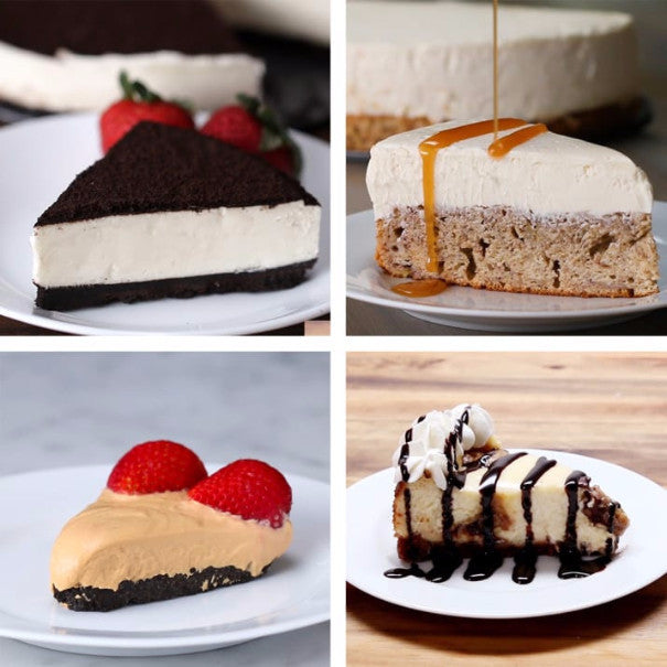 6 Cheesecake Recipes