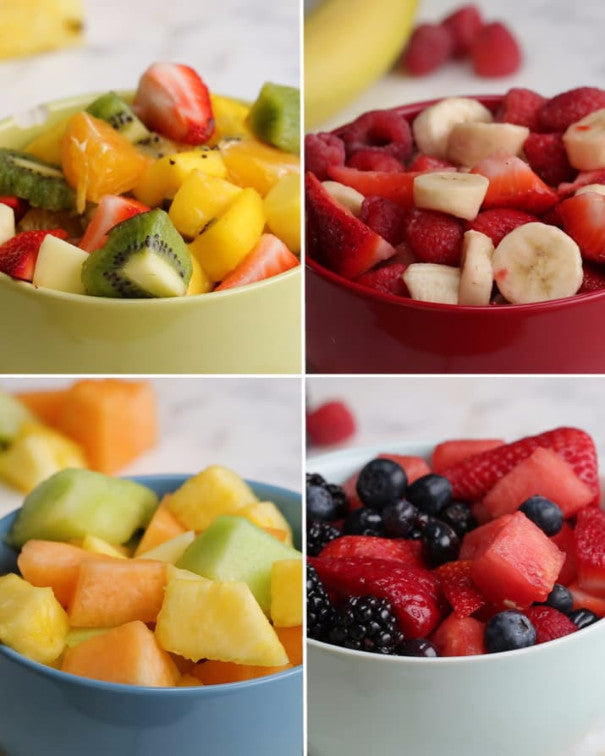 Fruit Salad Four Ways