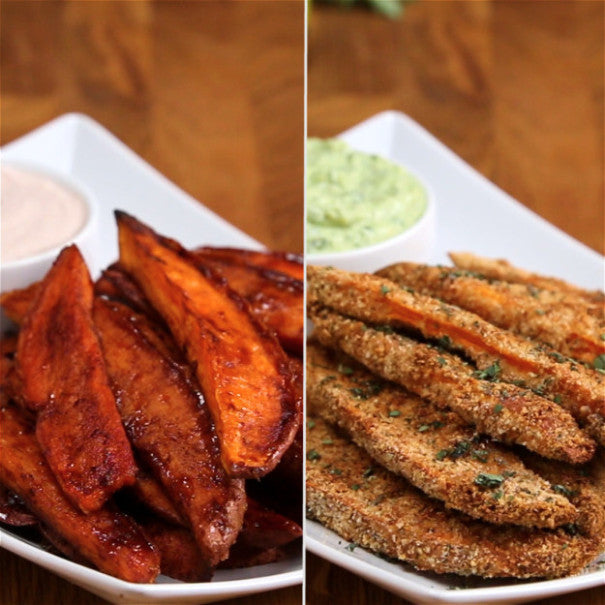 Sweet And Savory Sweet Potato Wedges