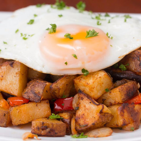 One-Pan Breakfast Potatoes