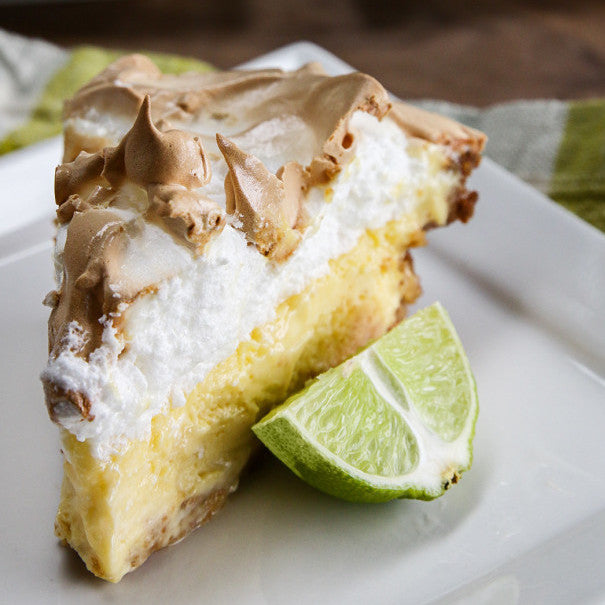 Key Lime Marshmallow Meringue Pie