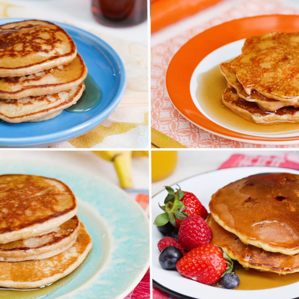 4 Simple and Healthy Pancakes
