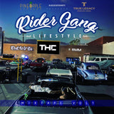 AUTOGRAPHED COPY RIDER GANG MIXTAPE
