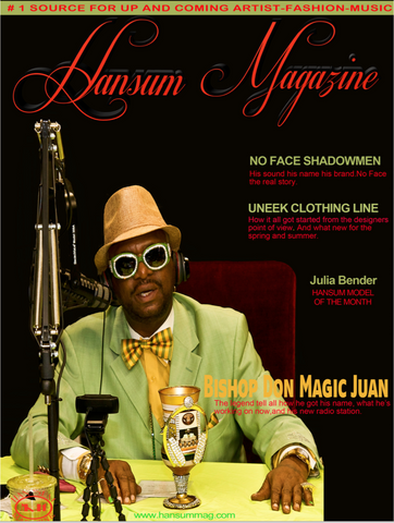 Hansum Magazine With The Bishop Don Magic Juan