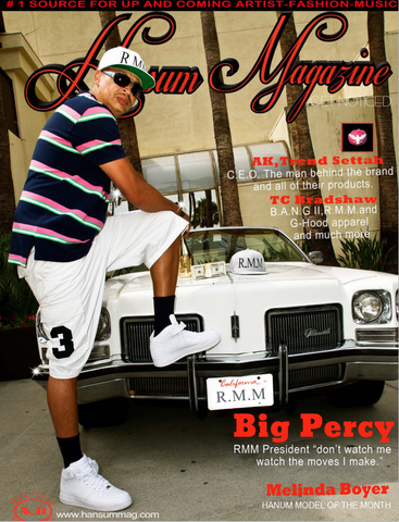Hansum Magazine BIG PERCY RMM