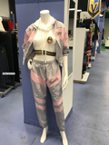 Hunny Pink & Gray Sweat Suit