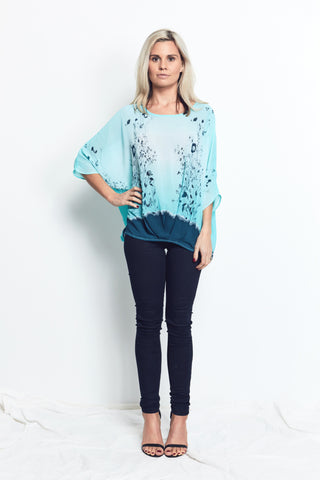 8 WAY TOPS / LOTUS floral