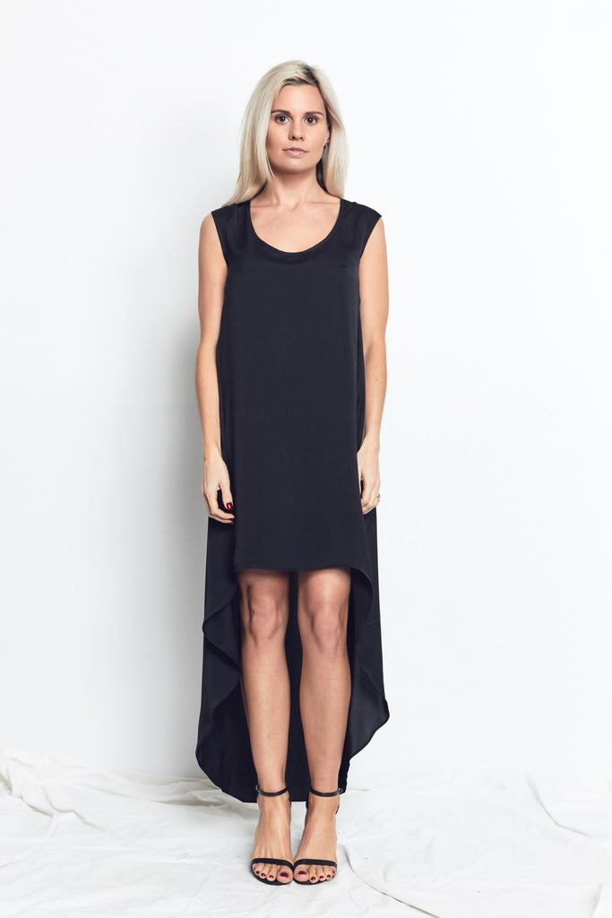 TUNIC DRESS / BLACK