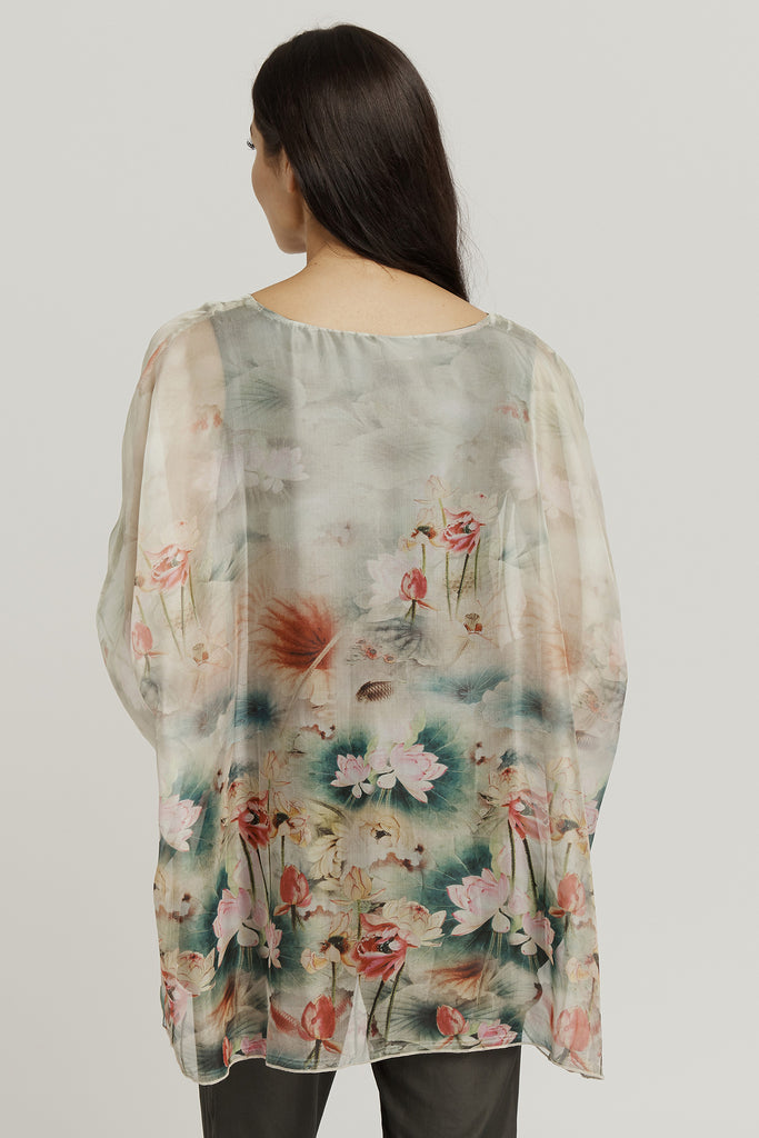TOP with TANK ATTACHED / Lotus Floral