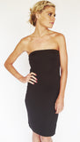 SLIPS / Strapless- BANDEAU/ BLACK
