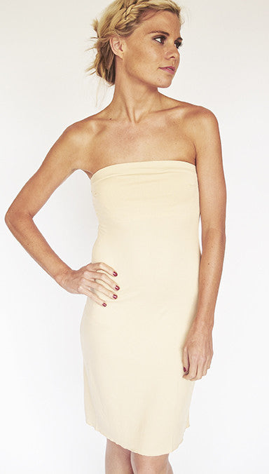 Slips / STRAPLESS - BANDEAU / NUDE