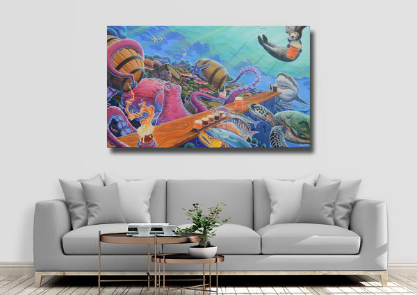 Canvas Print - Hoptopus