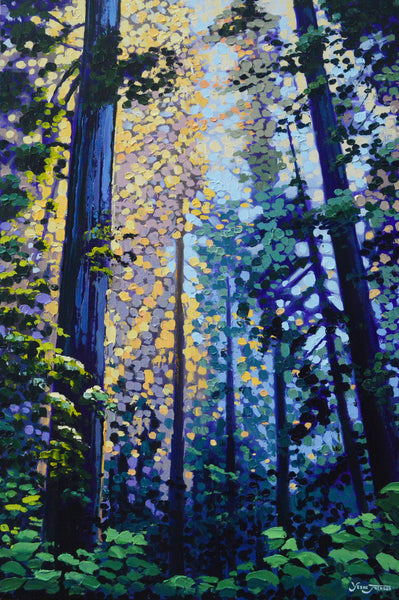Canvas Print - Redwood Retreat