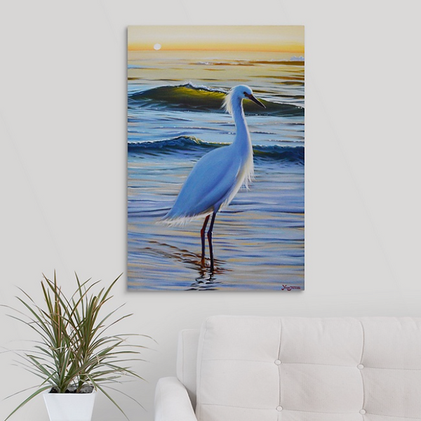 Canvas Print - Soaking It In