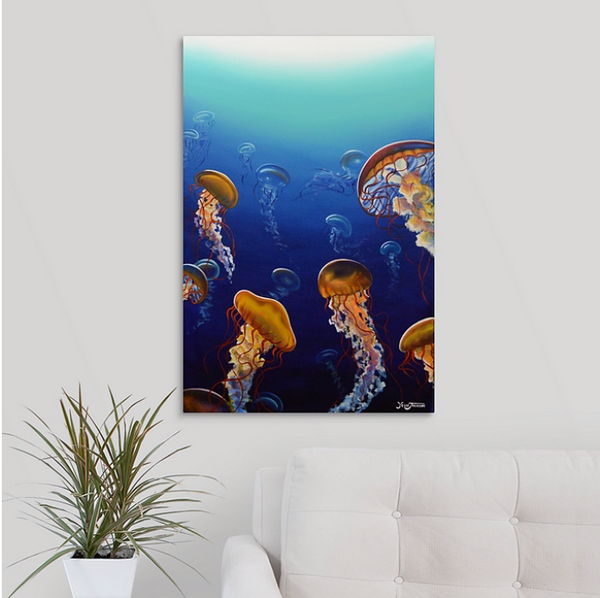 Canvas Print - Jelly Dance