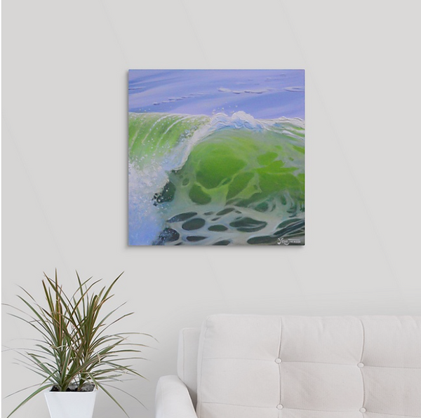 Canvas Print - Lime Barrel