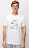 Chillin' Voidling White T-shirt Mens