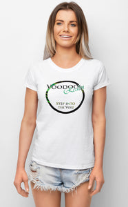 Step into the Void White T-shirt Womens Summer