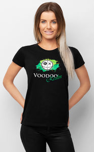 Voodoo Realm Black T-shirt Womens Voidling