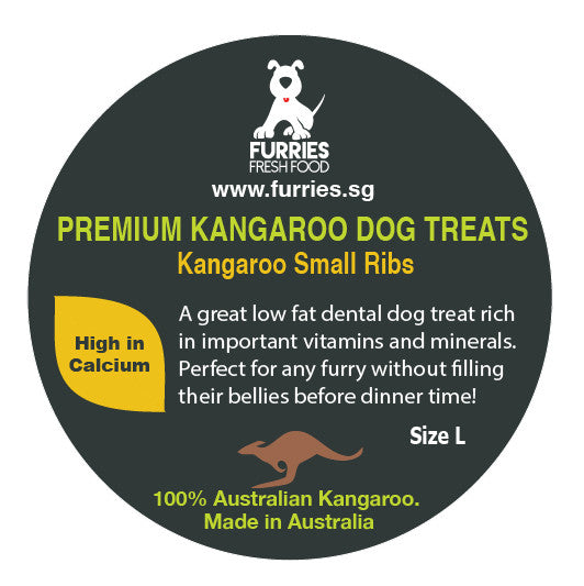 PREMIUM TREATS - ROO SMALL RIBS