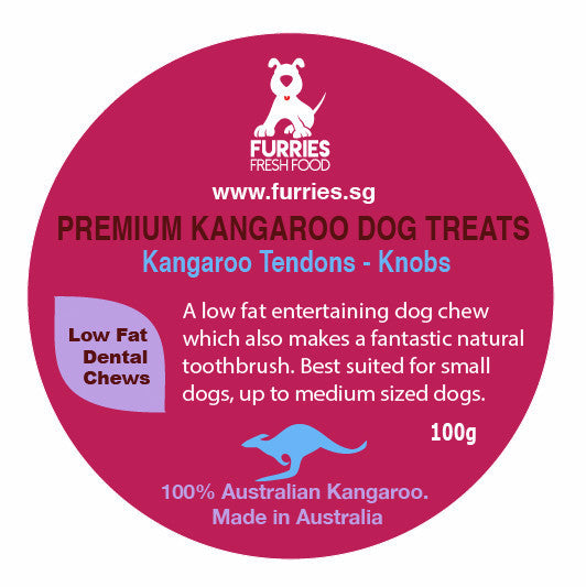 PREMIUM TREATS - ROO TENDON BULBS