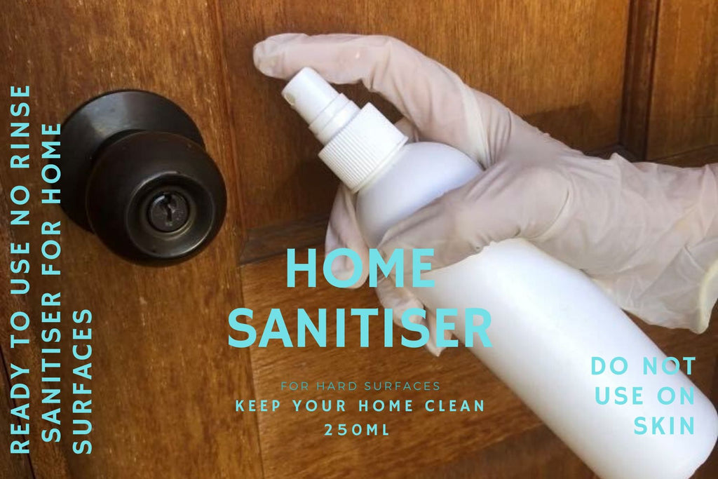 DISINFECTANT Sanitiser Spray - Hotel Strength for home (250ml).