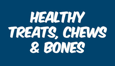 Healthy Treats, Chews & Bones