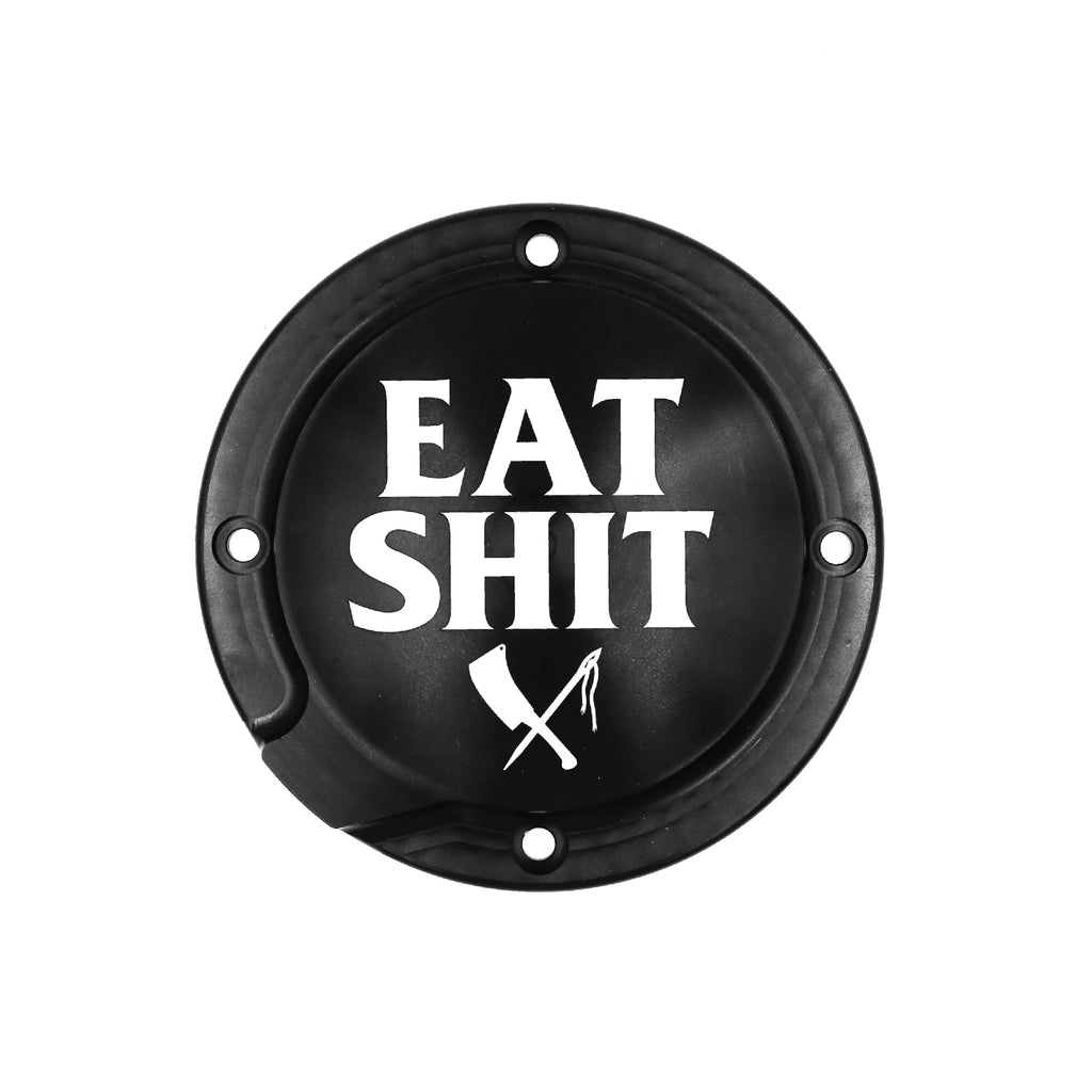 Eat Shit Derby Cover Rigid Mount Sportster