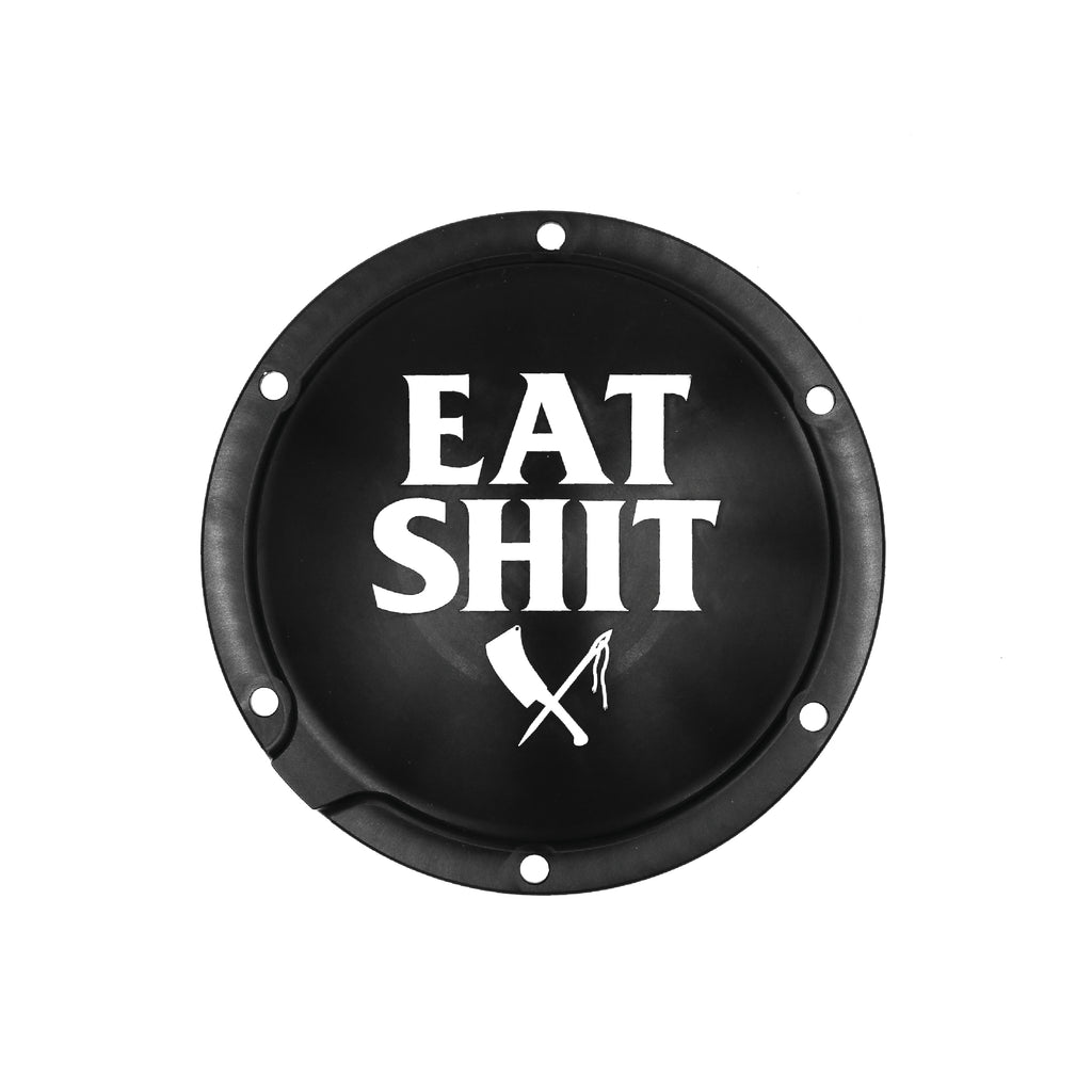 Eat Shit Derby Cover Rubber Mount Sportster