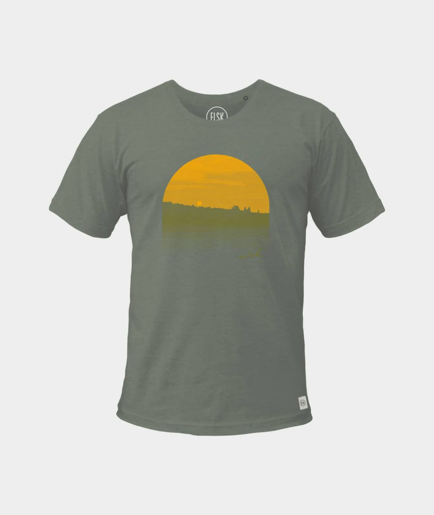 Forest Men's Tee (Moss Green) - ELSK