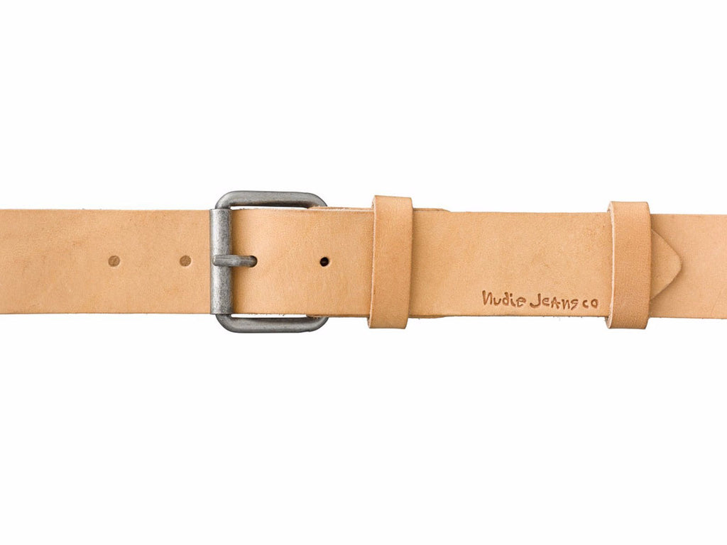Pedersson Leather Belt (Natural) - Nudie Jeans