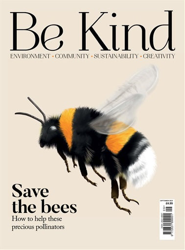 Save The Bees - Be Kind Magazine