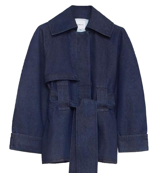 Format Jacket (Indigo Denim) - Kowtow