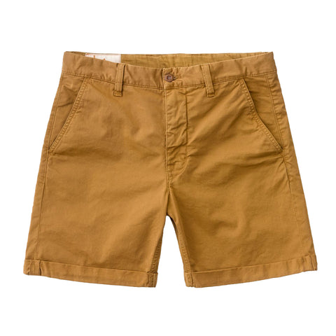 Luke Shorts Smooth Comfort (Camel) - Nudie Jeans
