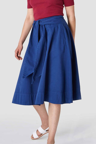 Tigerlily Skirt (Navy) - Kings Of Indigo
