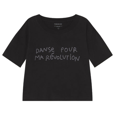 Danse Ivy Cropped T-Shirt - Thinking MU