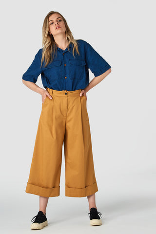 Rapunzel Pants (Camel) - Kings of Indigo